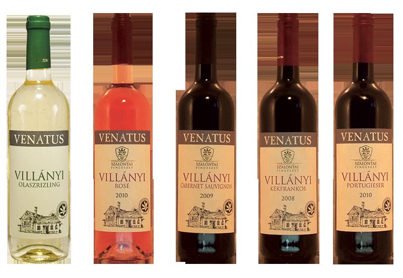 Szalontai borok - Venatus villány